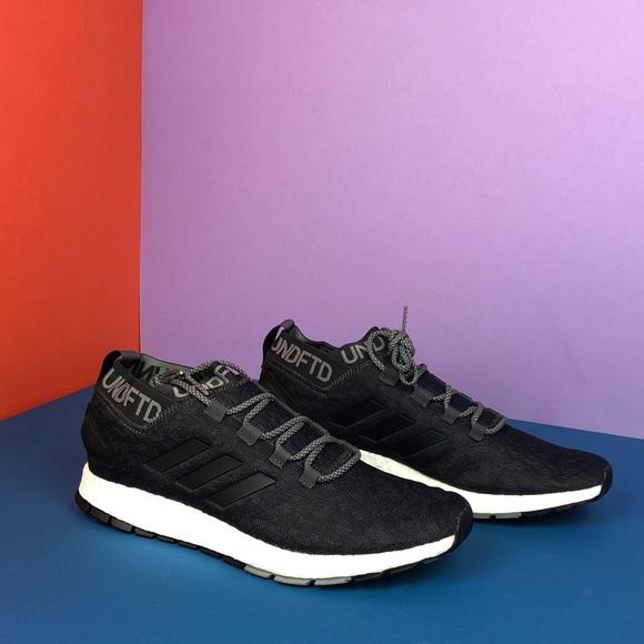 Black adidas pureboost Rbl x undftd men s 11.5 67af73db3